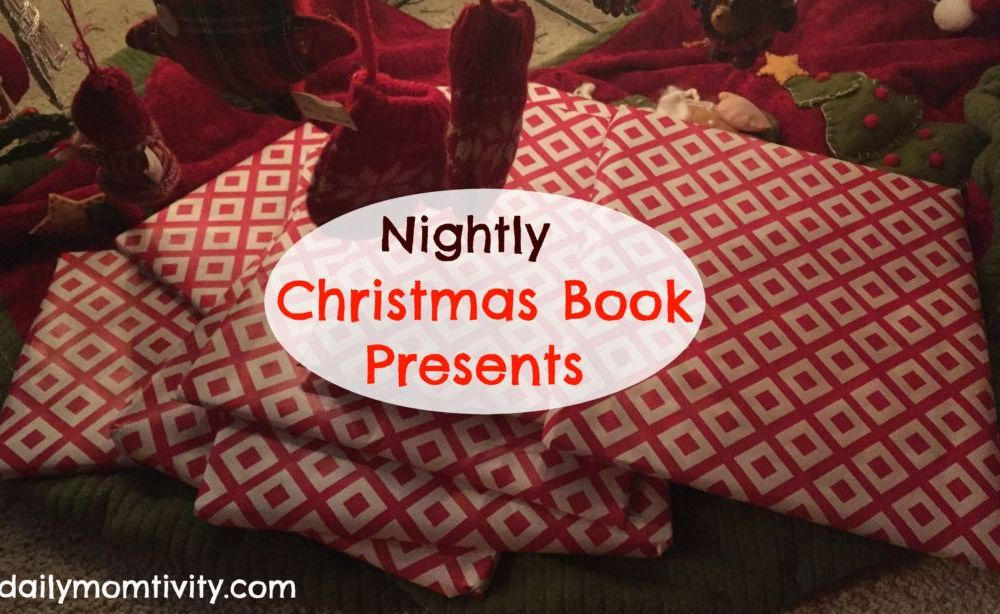 Nightly Christmas Book Tradition