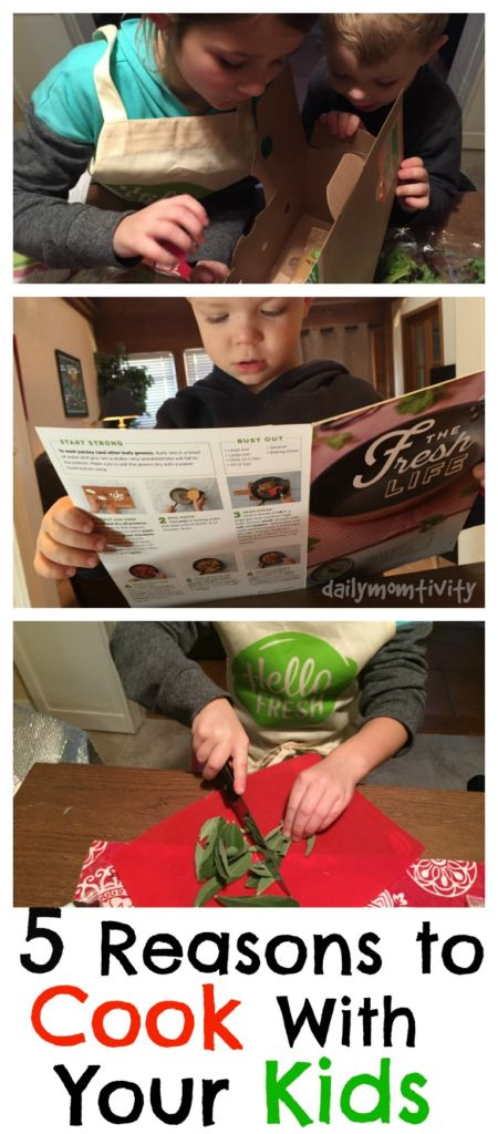 5 Reasons to Cook with your Kids