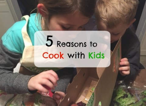 Reasons to Cook with Your Kids