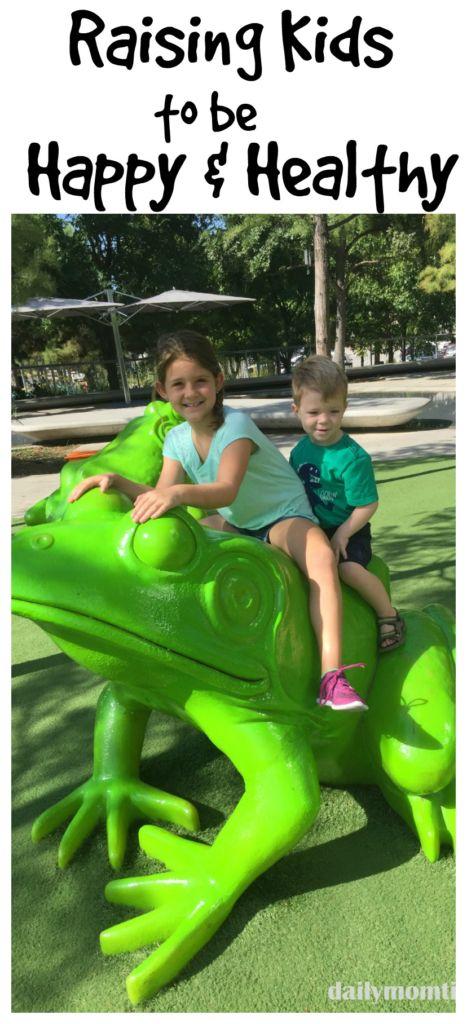Raising Kids to be Happy and Healthy #GreatFutures #IC #ad