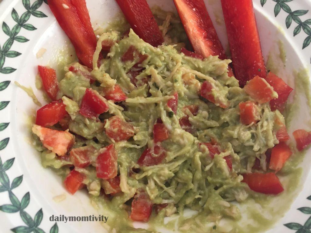 Avocado Chicken Salad (Healthy Lunch Idea)