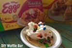 DIY Waffle Bar
