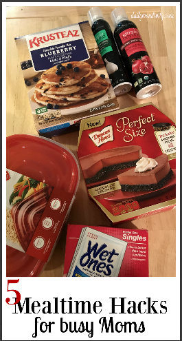 5 Mealtime Hacks for Busy Moms #ad  #InstantMealsBx #WishIHadAWetOnes