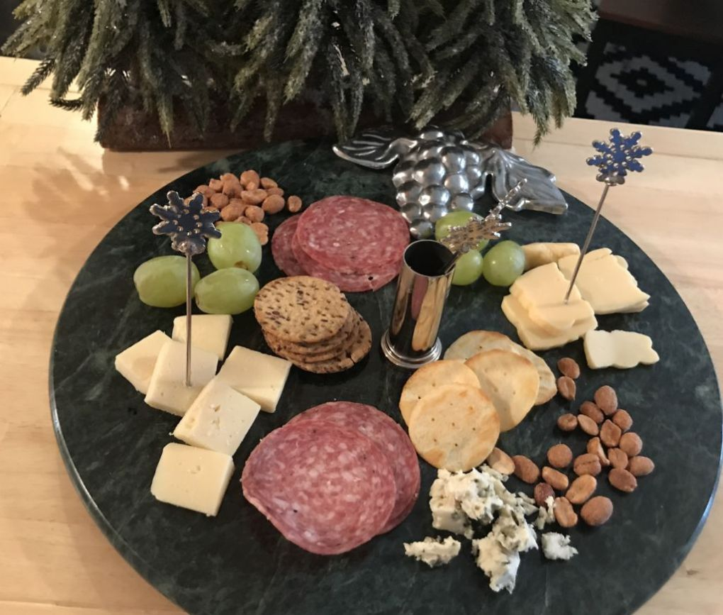 Holiday Party food