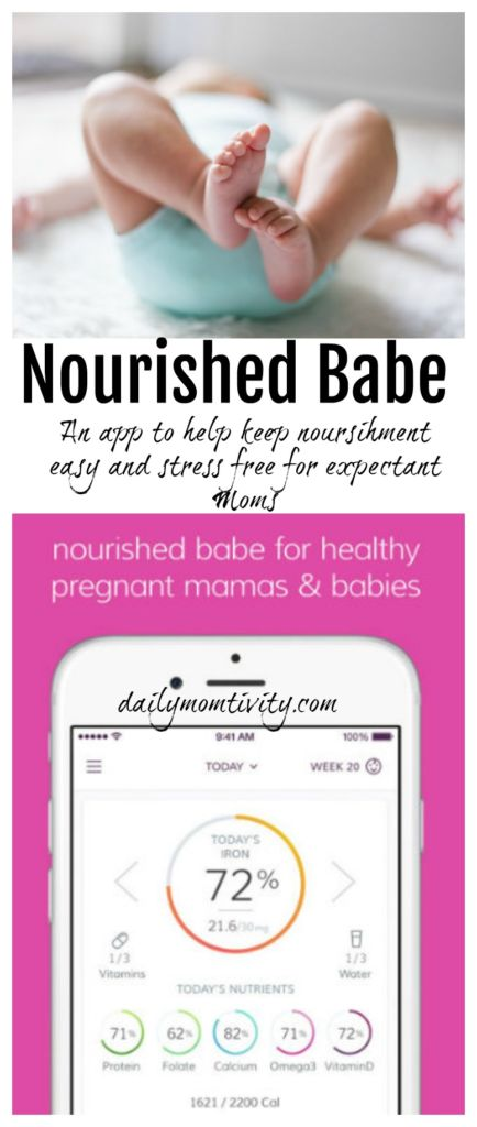 Nourished Babe is a simple to use app that helps expectant Moms make healthy choices. It's easy and stress-free.