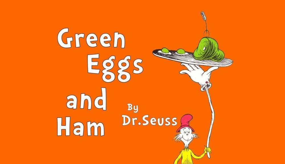Dr. Seuss' Green Eggs and Ham Snack and Activity