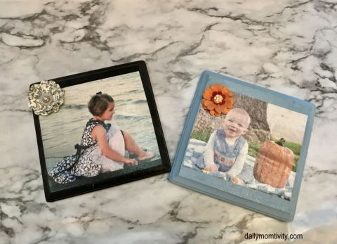 wooden photo gift idea