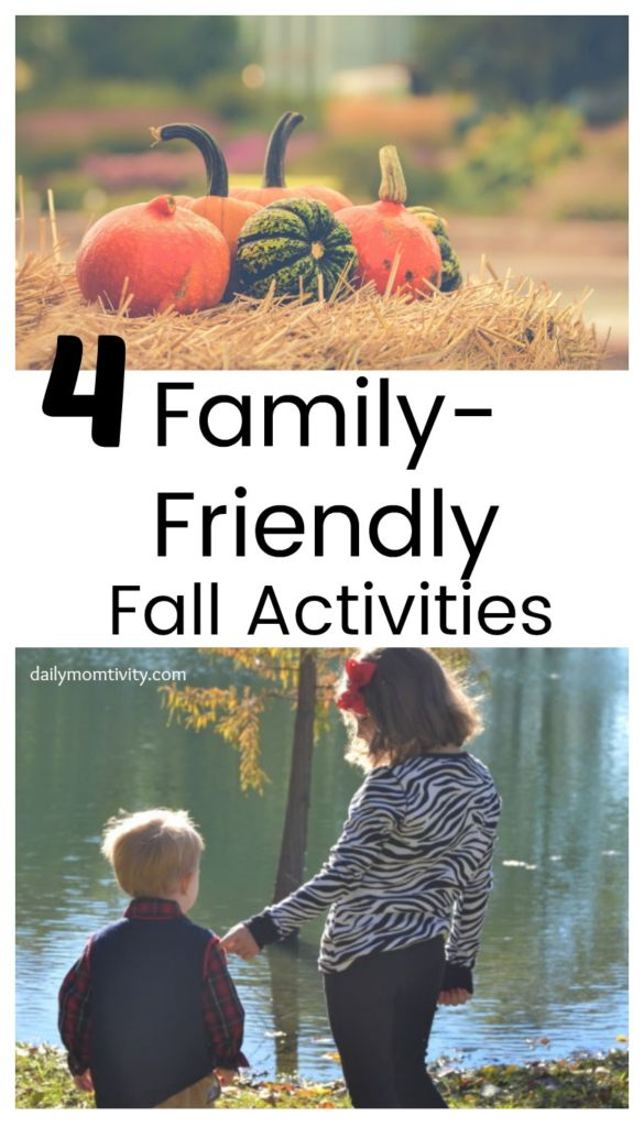 4 family friendly activities to plan this fall