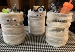 Mummy Candy Cans (A DIY Halloween Party Favor)
