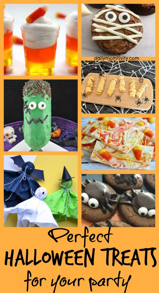 Perfect Halloween treats for Your Halloween Party for Kids or Adults