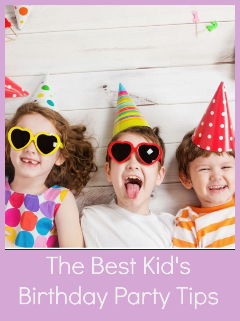 Planning a party for your kid? Here are the best kid's birthday party tips for a fun and successful party!