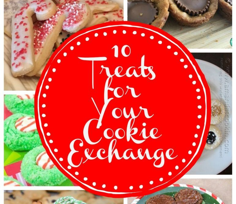 10 Amazing Treats Perfect for Your Cookie Exchange