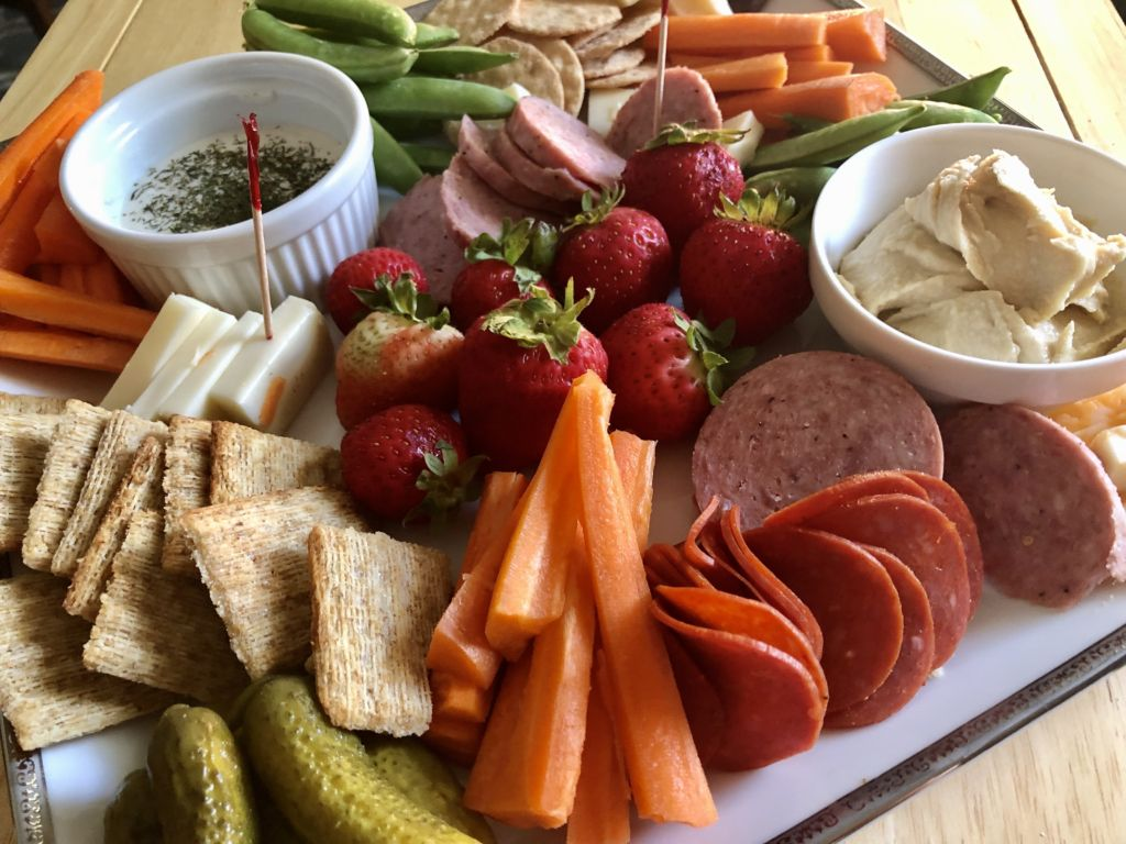 kid friendly Charcuterie board