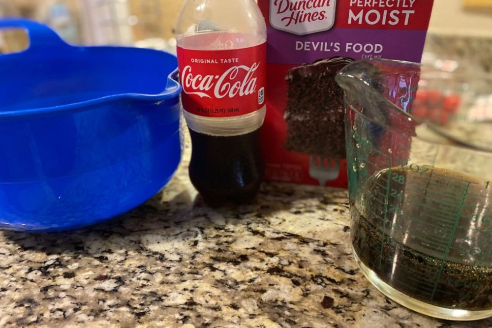 2 Ingredient Soda Pop Cake
