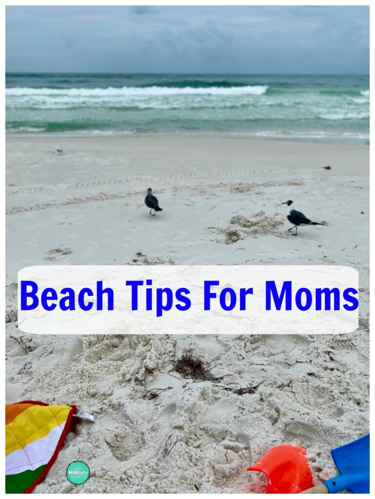 Awesome beach tips for Moms! Read these before going to the beach with kids.