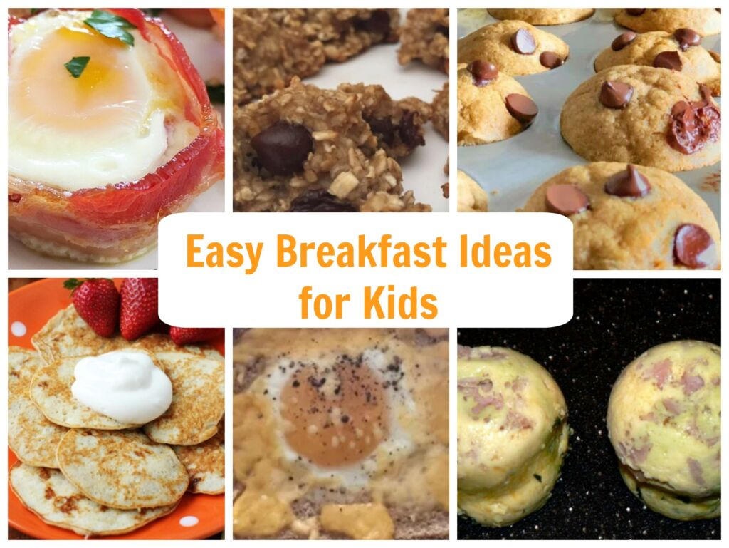 easy breakfast ideas for kids