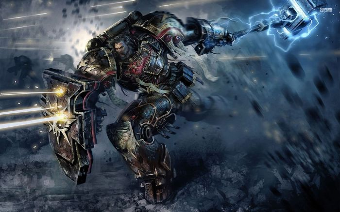 Charge du Space Marine