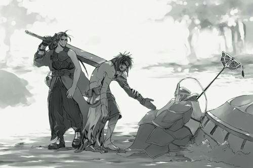 Braska Auron Jecht, préquelle Final Fantasy X.jpg