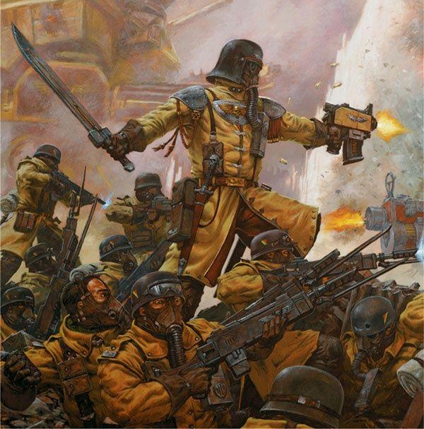 Régiment Armageddon Warhammer 40000