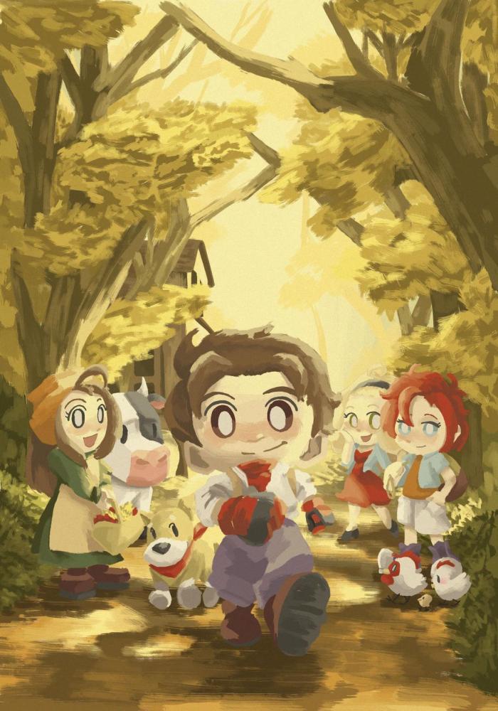 3 prétendantes Harvest Moon A Wonderful Life