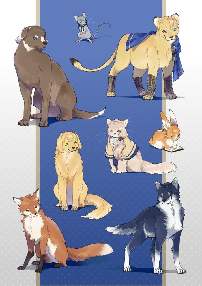Lions Bleus Fire Emblem