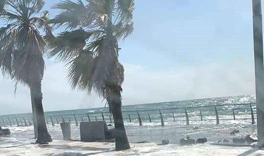 سعودی عرب میں سمندری طوفان