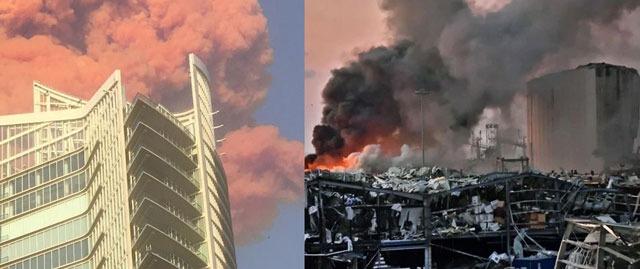 بیروت دھماکوں