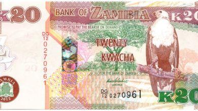 Photo of Kwacha settles at K20 per dollar