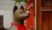 稲荷神社のお狐さん イメージ