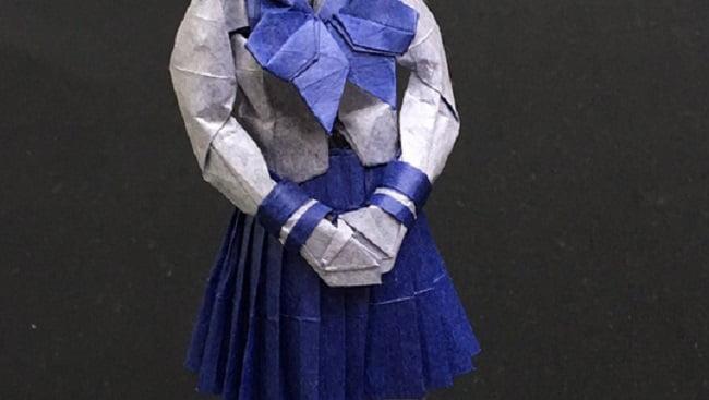 折り紙で女子高生?東大折紙サークルOristの完成度や展開図がヤバい!