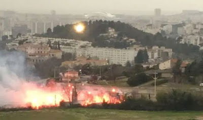 Angry Marseille fans break into training ground, set it ablaze hours before match