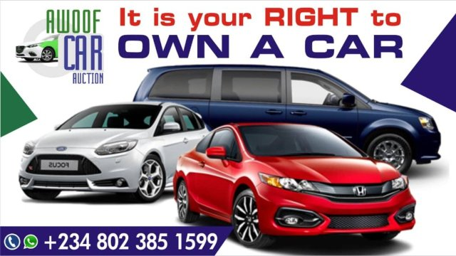 Cars not expensive to buy in USA Auction, Awoof Car will help you, stop wasting money