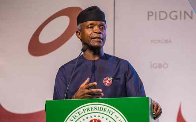 COVID-19: Osinbajo welcomes research group's report on drug quality