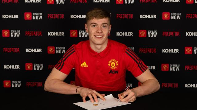 EPL: Man United confirm deal for 21-year-old Bishop ahead of Burnley clash
