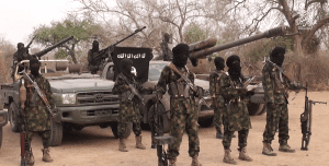 Just in: Boko Haram allegedly kills two policemen, abducts two, seizes police vehicles during Service Chiefs' maiden visit to Borno state today
