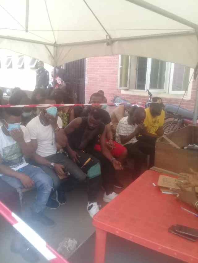 Police arrest 43 clubbers, strippers in Lagos