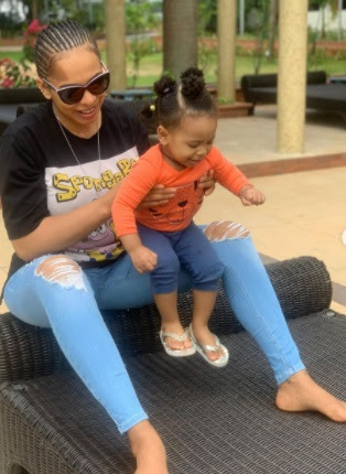 Beautiful new photos of Tboss and her daughter