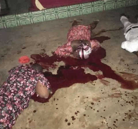 Gunmen kill man, wife, daughter inside Anambra church [photo]