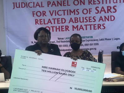 Lagos judicial panel issues compensation to victims of Police brutality