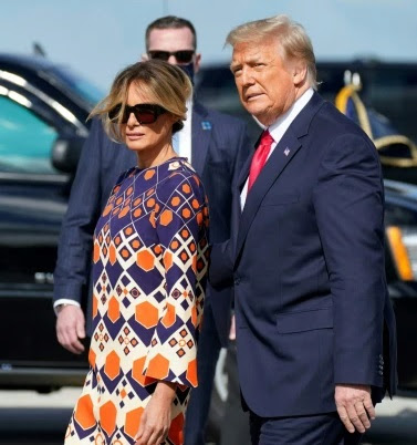 Melania Trump 'bitter and chilly' with Donald and spends days away from him in spa
