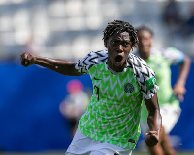 Oshoala named best African Woman player of the decade