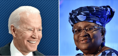 US offers strong support to Okonjo-Iweala to lead WTO