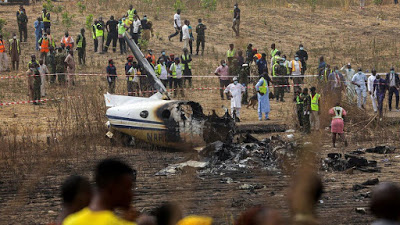 Victims of NAF plane crash to be buried tomorrow