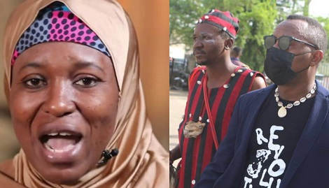 Aisha Yesufu reacts to Omoyele Sowore's appearance in court with herbalist