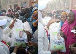 Tinubu branded rice distributed to Kano residents [photos]