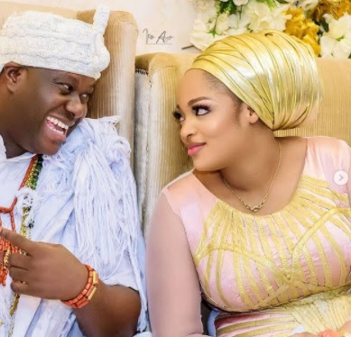 Beautiful photos of Ooni and his wife, queen Naomi