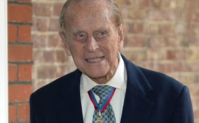 Prince Philip's cause of death recorded as 'old age'