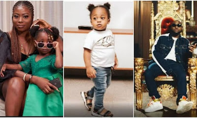 Sophia Momodu reacts to Davido's declaration of Chioma's son as his heir apparent