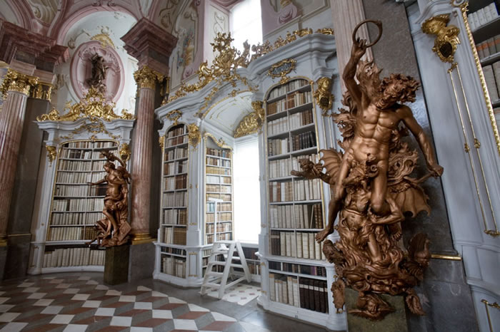 Austria Vacation  Worlds Largest Monastery Library