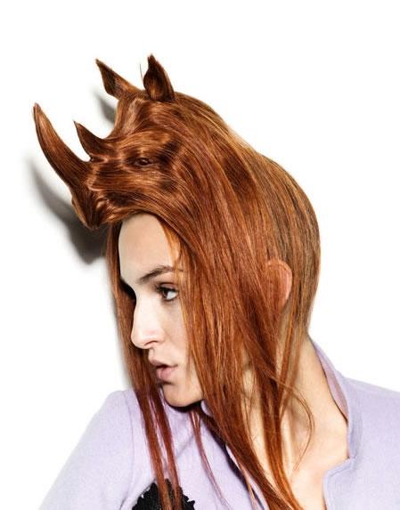 Amazing Animal Shaped Hairstyles By Nagi Noda